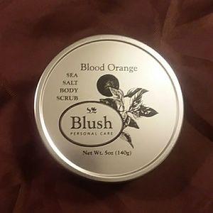 🔥SALE 🔥Blush blood orange sea salt body scrub